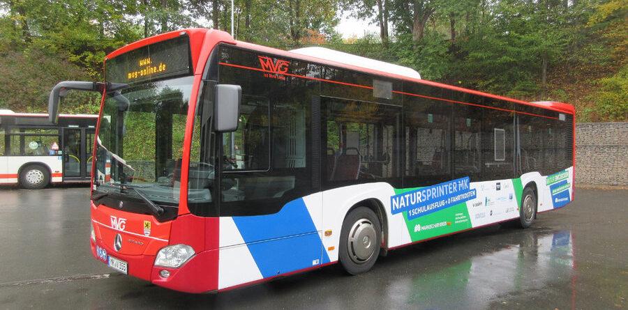 """Kostenlose Anreise mit dem """"Natursprinter MK"""""""